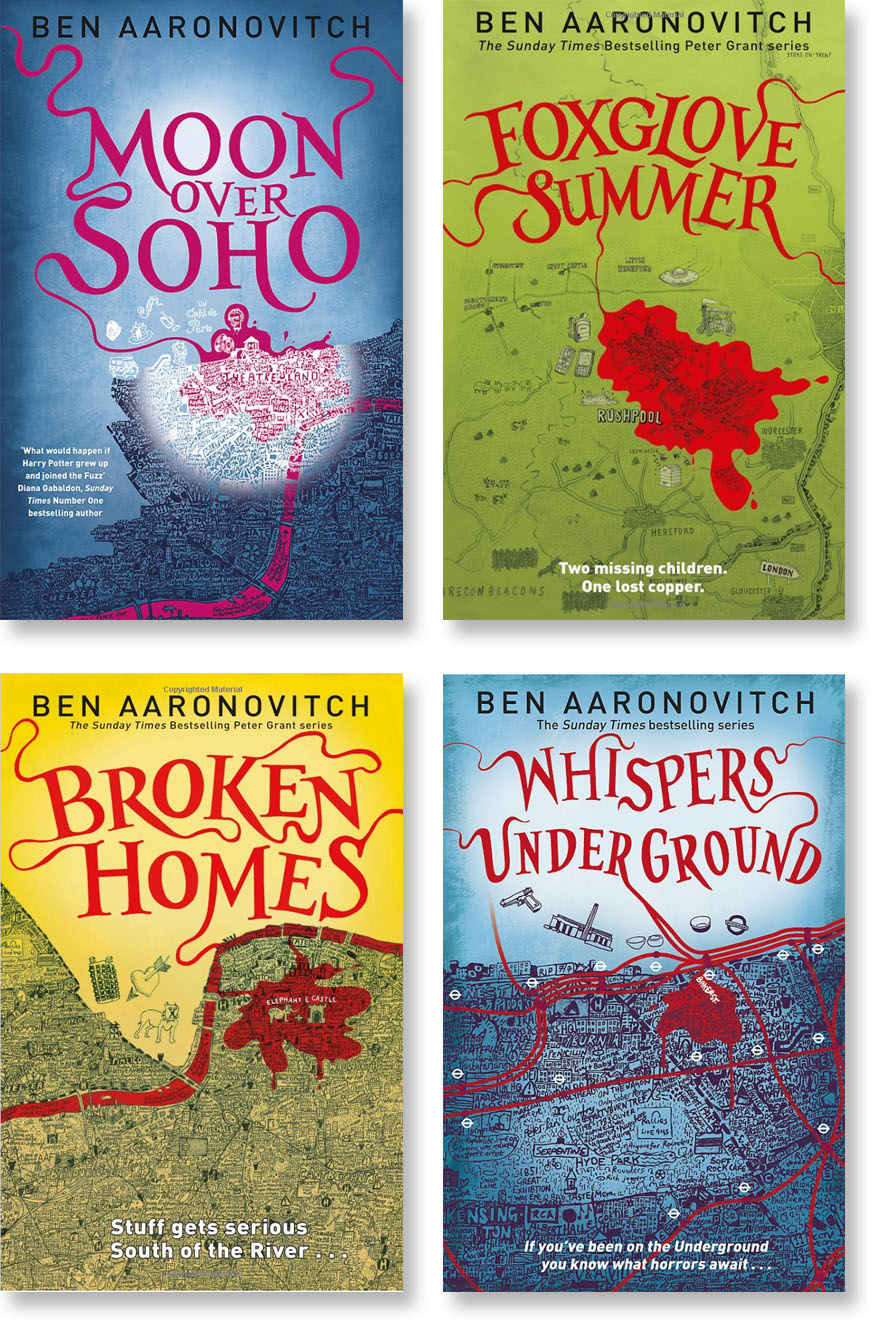 Cover design/series styling and hand-lettering. For Gollancz.